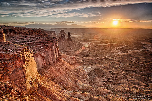 "2015-03-06 - Second Place - Projection Competition (Color Category) – ""Sunrise near Mesa Arch"""