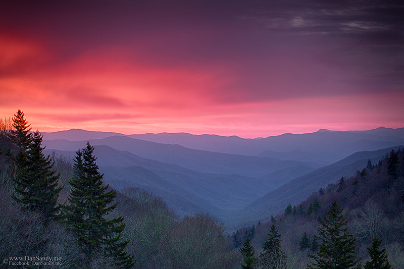 Somewhere in the Smoky Mountains