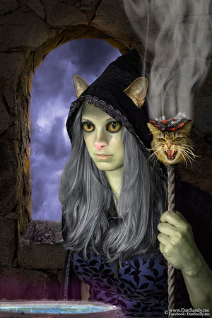"""2016-05-21 - Second Place - Year end competition - Creative Category - """"Witches Brew"""""""