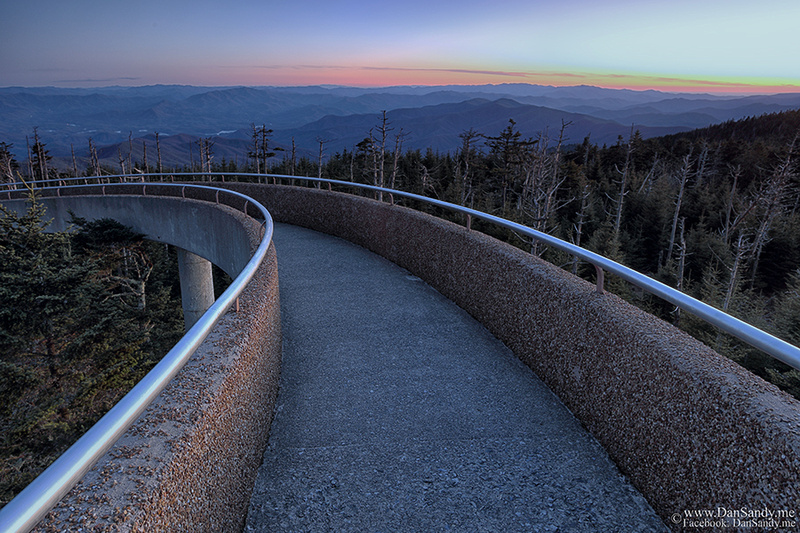 Shot from Clingman's Dome in the Smoky Mountains