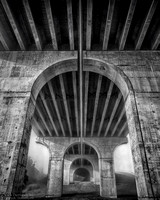 "2017-02-03 - Honorable Mention - B&W Competition - ""Giant Arch"""