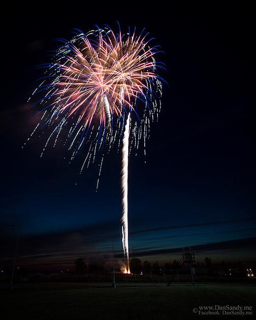 2017 City of Cleveland fireworks