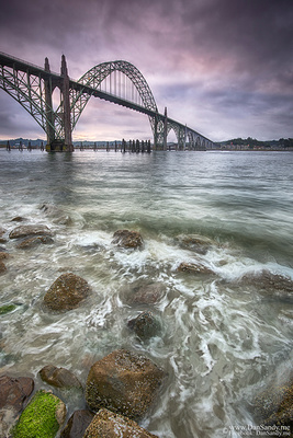 """2017-07-14 - Honorable Mention - Pictorial competition - """"Yaquina Bay Bridge"""""""
