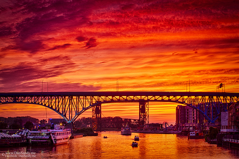 """2016-05-21 - YEC - """"Summer Solstice Sunset on the Cuyahoga"""" - Did not place"""