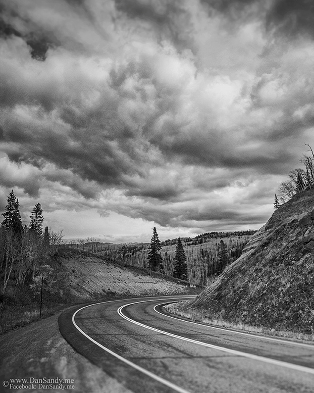 "2015-07-17 - Did Not Place - B&W competition - ""Colorado Curve"""
