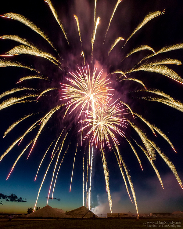 """2015-07-10 - Did not place - Pictorial Competition - """"Fireworks over the Cleveland Pyramids"""""""