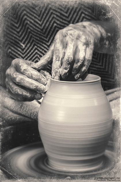 "2017-09-08 - Did Not Place - B&W Competition - ""The Potter's Hand"""