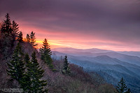 """2016-09-23 - 1st Place - Nature Competition - """"Sunrise in the Smoky Mountains"""""""