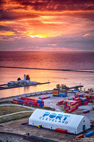 """2017-01-06 - Honorable Mention - Pictorial Competition - """"Sunset at the Port"""""""
