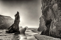 """2017-11-03 - 3rd Place - B&W Competition - """"Sea side stack"""""""