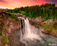 """2017-11-03 - DNP - Pictorial Competition - """"Snoqualmie Falls"""""""