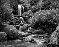 """2016-09-09 - Did not place - B&W Competition - """"Below Grotto Falls"""""""