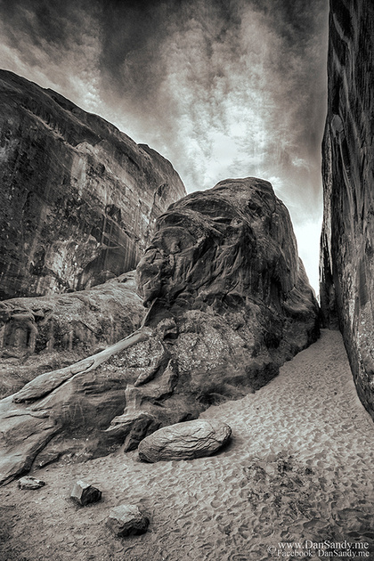 "2016-09-09 - First Place - B&W Competition - ""Slot Canyons"""