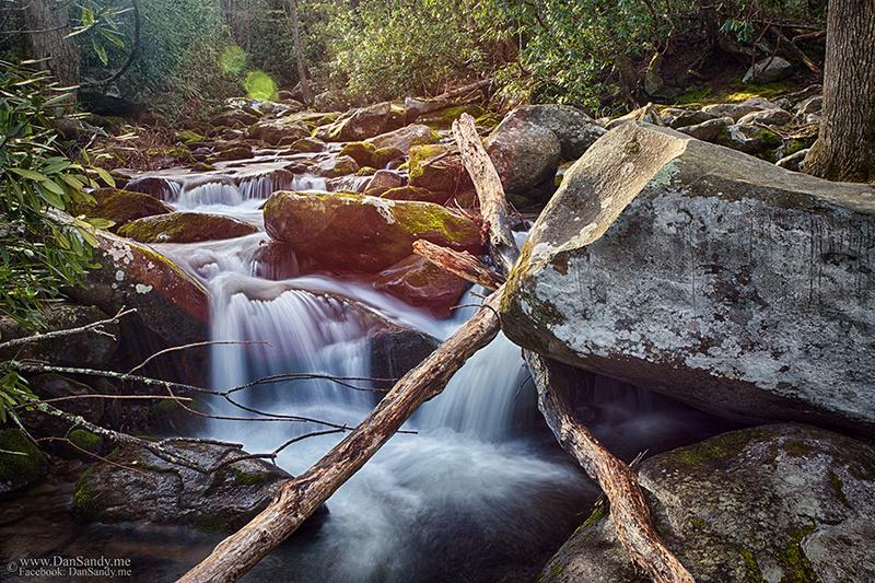 Below Grotto Falls