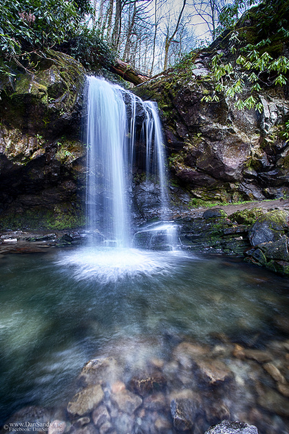 Grotto Falls in the Smoky Mountain National Park