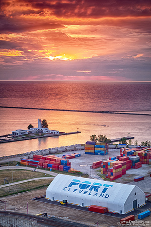 "2017-01-06 - Honorable Mention - Pictorial Competition - ""Sunset at the Port"""