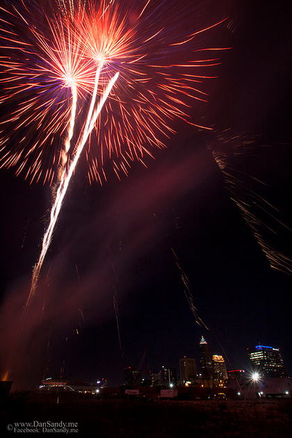 2017 City of Cleveland fireworks