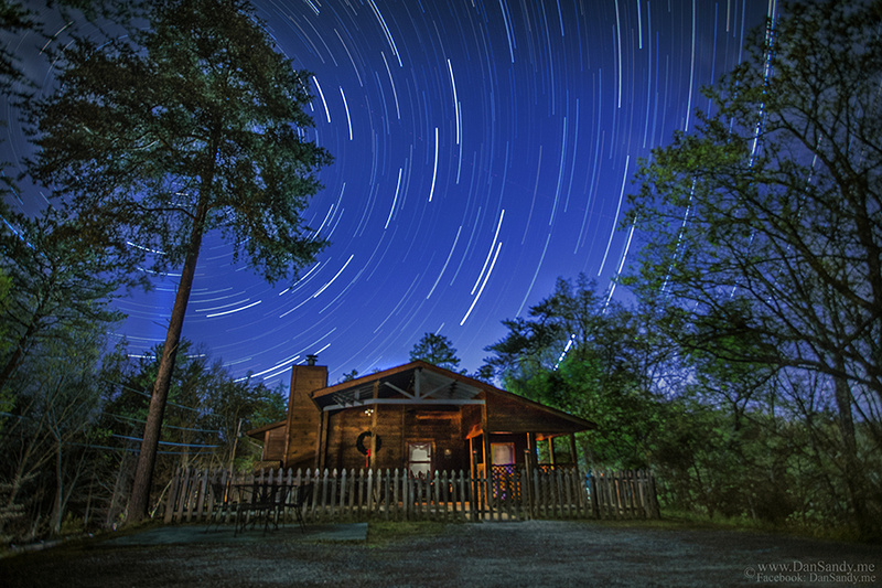 "2017-03-17 - Did Not Place - Creative Competition - ""Smoky Mountain Star Trails"" -"