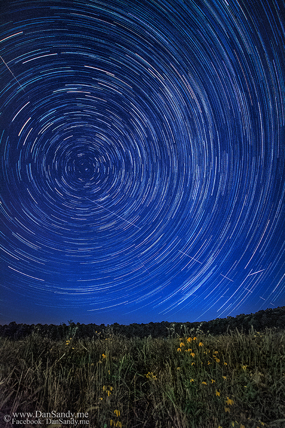 "2015-09-11 - Did Not Place - Pictorial competition - ""Star Trails at Observatory Park"""