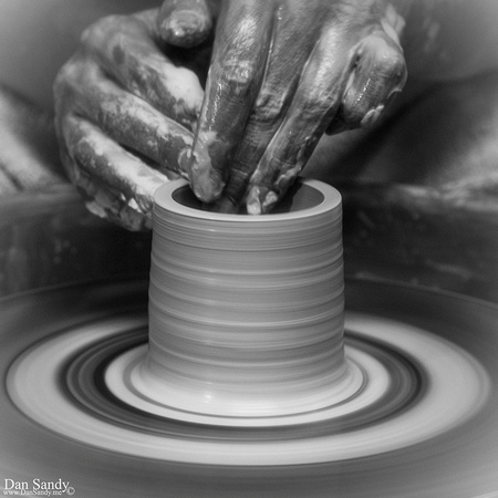 "2018-02-02 - Honorable Mention - Pictorial Competition - ""Spinning Clay too"""