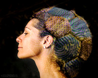 """2017-07-07 - Honorable Mention - Creative Competition - """"Alien Headdress"""""""
