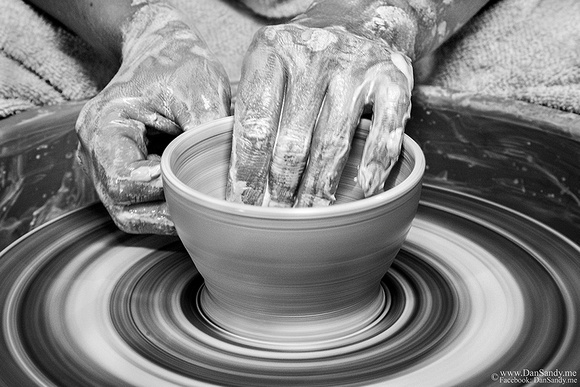 "2017-09-08 - Did Not Place - B&W Competition - ""Spinning Clay"""