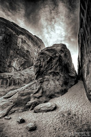 """2016-09-09 - First Place - B&W Competition - """"Slot Canyons"""""""