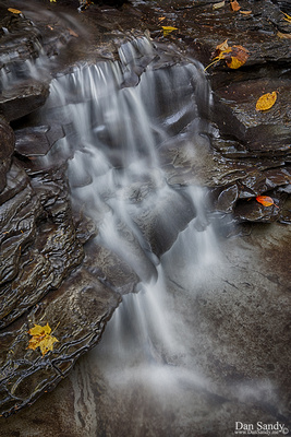 """2018-01-26 - Honorable Mention - Nature Competition - """"Shale waterfall"""""""